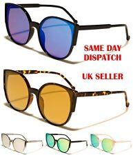 Eyedentification diseño redondo ojo de gato de gran tamaño para mujer Gafas de sol 100% UV400 11021