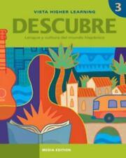 Descubre, Nivel 3,  Lengua Y Cultura Del Mundo Hispanico