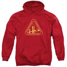 Star Trek Gold Academy Mens Pullover Hoodie