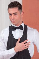 Nœud Papillon Fines Rayures Unisexe Sala Reception Hôtel Restaurant Vêtements