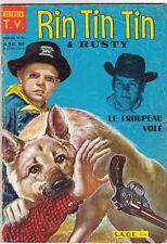 Rin Tin Tin n°30 - Vedettes TV. SAGE 1962 - bel état