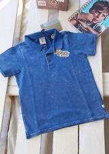 SCOTCH SHRUNK -  Polo Shirt petrol blau Gr 104, 116, 140  bis 176 neu! Sale 50%