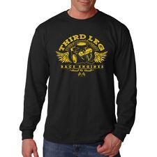 Third Leg Race Engines Car Auto Racing Funny Humor Long Sleeve T-Shirt Tee