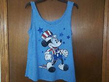 Disney junior t-shirts Patrriotic  Mickey Mouse NWT S-2XL Juniors