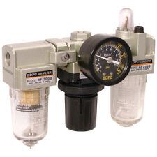 Filtro tipo FM + regulador + lubricador (engrasador) Para Herramientas de Aire, Compresor