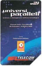 SCHEDA TELEFONICA TELECOM 1078 SMAU MILANO 1999