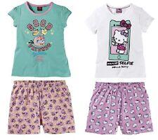 Shorty Hello Kitty o. Angry Birds 122 128 134 140 146 152 Nachtwäsche kurz Shirt