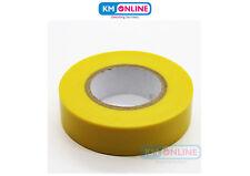 Jaune électrique Isolation PVC Ruban adhésif 19mm x 20m BS EN 60454 Travail