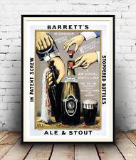Barretts: Vintage Poster Publicitario la reproducción.
