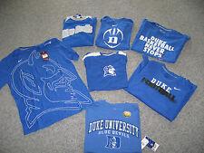 DUKE University Men's T-Shirts, Many Styles&Sizes, 100% Cotton,,MSRP-$18.00-$28