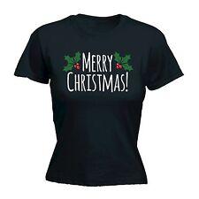 Feliz Navidad bayas para Mujer T-Shirt Tee Holly Jumper Divertido Regalo Navidad