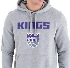 New Era Sacramento Kings Team Logo Po Hoodie Sweater NBA Hoodie Men's