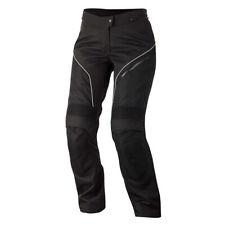 Alpinestars Stella ast-1 negro/Blanco Moto Textil mujer pantalones