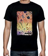 Love Analog Synthesizer Men's T-Shirt - Synth Moog Korg Roland Akai