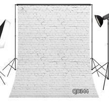 8X10FT Rustic Grunge Old Brick Wall Vinyl Backdrop Studio Background Photography