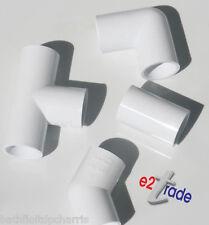 21,5 mm débordement raccords de tuyaux coude, bend, Tee, couplage -- blanc PK Of2,5,10,15,20 SB