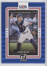 2016 Panini Donruss USA Collegiate National Team Blue USA-22 Chris Okey Baseball