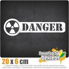 KIWISTAR Danger Gefahr Warnung csf0959 20 x 6 cm Aufkleber