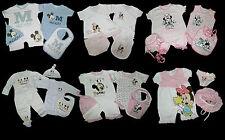 Disney Minnie Mickey Geschenk Geburt 44 50 56 Taufe Spieler Body Mütze Lätzchen