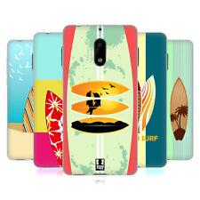 HEAD CASE DESIGNS SURFBOARDS SOFT GEL CASE FOR NOKIA 6