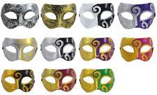 MENS Masquerade ROMAN MASKS | Face Mask VENETIAN Masks | Fancy Dress PROM BALL