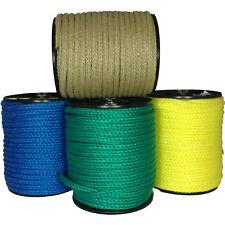 50m PP-Seil 10mm 800daN (kg) schwimmfähig Polypropylen Seil grün beige blau gelb