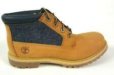 Timberland Nellie Chukka Waterproof Boots Wheat Nubuck Leder Damen A12AP