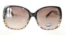 OCCHIALI da SOLE donna NERO LEOPARDATO maculati lenti estive lunettes gafas 55