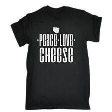 Peace Love queso T-Shirt alimentos Cocina Cocinar Cooking Chef Cumpleaños Regalo Divertido