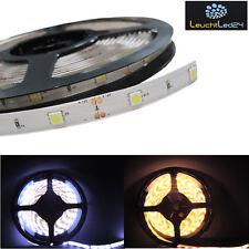 5M 5050 LED Strip Lichtschlauch Lichtleiste 30/M 12V IP20 oder IP65 mit Netzteil