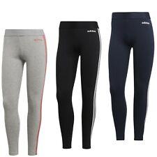 0e41cd8f81a68e adidas Leggings schwarz Damen 3 Streifen sport Leggings Baumwolle Sporthose