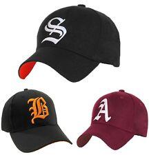 01eaab2ddb4 Men Women Casual Baseball Cap Sport Gothic Letter S Hip Hop Snap Back Hat LA