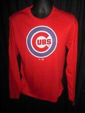 Chicago Cubs Men's Fanatics Long Sleeve Shirt Small