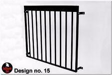 Juliet balcony,metal balustrade,wrought iron railings, design 15 of 26 Jullimett