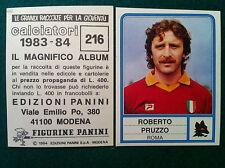 CALCIATORI 1983-84 83-1984 n 216 ROMA PRUZZO - Figurina Sticker Panini (NEW)