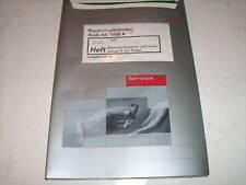 Werkstatthandbuch Audi A6 4B Motronic Einspritzanlage + Zündanlage Turbo ab 1998