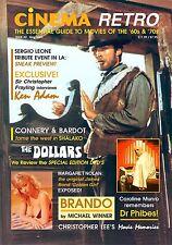 CINEMA RETRO ISSUE #2 VINCENT PRICE DR. PHIBES SERGIO LEONE CAROLINE MUNRO