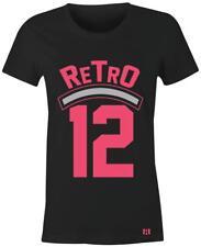 """Retro 12 - Women/Juniors T-Shirt to Match GS """"Deadly Pink"""" 12's"""