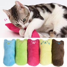 Interactive Pillow Scratch Crazy Pet Cat Kicker Catnip Teeth Claw Grinding Toy u