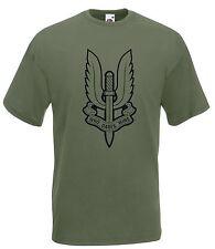 T-shirt Maglietta J1833 Stemma Bassa Visibilità Who Dares Wins Forze Speciali