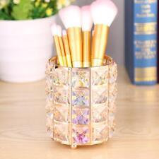 Makeup Brush Crystal Cup Cosmetic Brush Lipstick Case Cylinder Storage Organizer