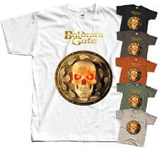 Baldur's Gate V1, COMPUTER GAME 1998, T-Shirt (WHITE,BLACK) All sizes S-5XL