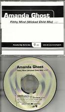 AMANDA GHOST Filthy Mind  w/  Wicked Child MIX PROMO Radio DJ CD Single 2000