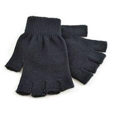 Men's/Women's Magic Thermal Black Fingerless Gloves - One Size