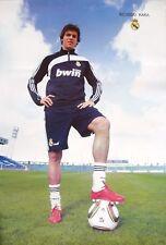 "RICARDO KAKA ""FOOT ON THE FOOTBALL"" POSTER- REAL MADRID"