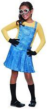 Rubies Female Minion Kevin Bob Stuart Children Girls Halloween Costume 610786