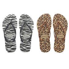 Havaianas Slim Animals Zebra Men Rubber Sandals Flip Flop Uk Size 3 4 5 6 7 8 9