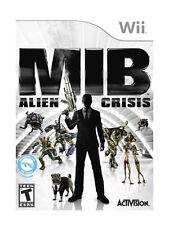 Men in Black: Alien Crisis (Nintendo Wii, 2012) DISC IS MINT