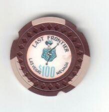 Last Frontier $100 Showgirl Casino Chip Las Vegas 1948
