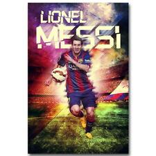 137594 Lionel Messi FC Barcelona Soccer Wall Print Poster CA